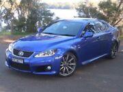 2010 Lexus IS F Sport Luxury Blue Automatic Sedan Lansvale Liverpool Area Preview