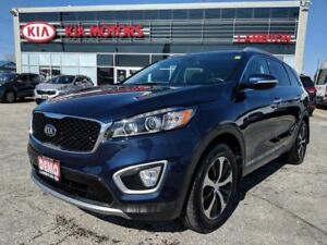2017 Kia Sorento 3.3L EX Leather V6 All-wheel Drive