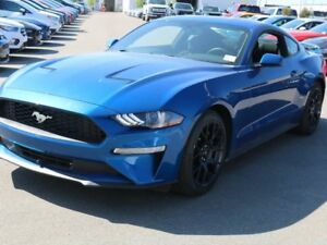 2018 Ford Mustang ECOBOOST, 100A, SYNC, MYKEY, REVERSE CAMERA, S