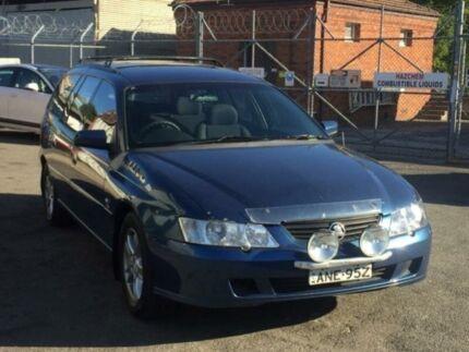 2003 Holden Commodore VY Lumina Blue 4 Speed Automatic Wagon