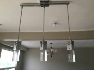 Hanging Wired Pendents Lights..$65.00....416 473 1859