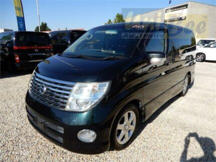 2006 Nissan Elgrand ME51 Highway Star Black Tri-Coat Automatic Wagon Moorabbin Kingston Area Preview