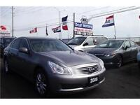 2008 Infiniti G35x Sedan*CERTIFIED AND 3 YEAR WARRANTY INCLUDED*
