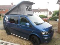 2012 VW T5 T32 FOUR BERTH, POP TOP CAMPERVAN CONVERSION FOR SALE