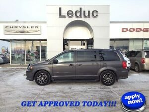 2016 Dodge Grand Caravan R/T with Leather and Dual Sliding Doors