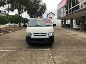 2015 Toyota HiAce KDH201R MY15 LWB White 5 Speed Manual Van Lidcombe Auburn Area Preview