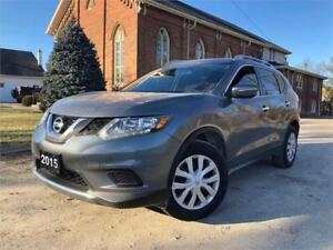 2015 Nissan Rogue S - EXTRA CLEAN - CERTIFIED - PRICE REDUCED!!!