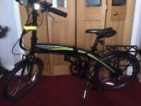 Carrera Crosscity Electric Folding Bike unused