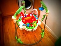 Fisher-Price Rainforest Jumperoo Baby Bouncer £25! Retail Price over £70