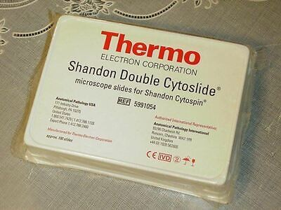 Thermo 5991054 Shandon Double Cytoslide Microscope Slides For Shandon Cytoslide