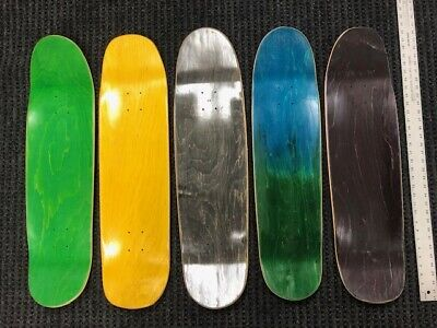 "SKATEBOARD DECKS, 8.0"" to 8.75"" Park shapes(5 or 10 Pack) USA made ($9.99 each)"