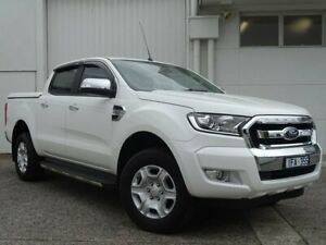 2015 Ford Ranger PX MkII XLT Double Cab White 6 Speed Sports Automatic Utility Bundoora Banyule Area Preview