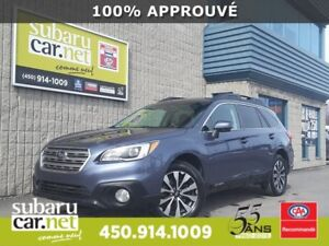 2015 Subaru Outback 3.6R Limited Eyesight *104$/sem 0$ comptant