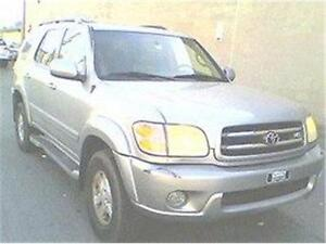 2001 TOYOTA SEQUOIA LIMITED, JEEP REDUIT 4980$ 514-817-0095
