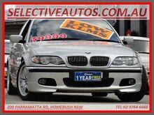 2002 BMW 340I E46 M Sport Silver 5 Speed Auto Steptronic Sedan Homebush Strathfield Area Preview
