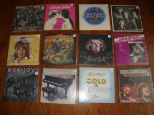 """Lots of new LP and 7""""  Records every week, rock, blues, jazz,"""