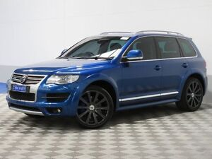 2008 Volkswagen Touareg 7L MY09 Upgrade R50 Shadow Blue 6 Speed Tiptronic Wagon Jandakot Cockburn Area Preview