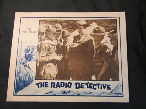 """The Radio Detective Chapter 3 """"The Radio Wizard"""" 1926 Poster"""