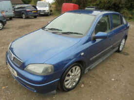 Vauxhall Astra 1.6I 16V SPORT, FULL SERVICE HISTORY (blue) 2004