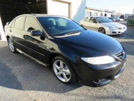2004 Mazda 6 GG Luxury Sports Black 4 Speed Auto Activematic Hatchback Werribee Wyndham Area Preview