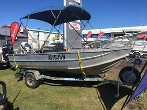Clark 14 foot deep sided tinny 25HP Johnson with good Trailer Tweed Heads South Tweed Heads Area Preview