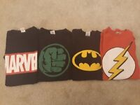Super Hero T-shirts! £5 for 4!