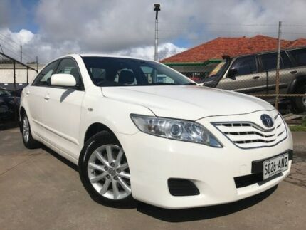 2010 Toyota Camry ACV40R 09 Upgrade Altise White 5 Speed Automatic Sedan Para Hills West Salisbury Area Preview