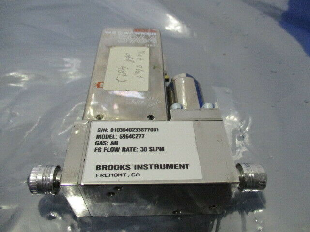 Brooks 5964, Mass Flow Controller, 5964C4MAM25KA, N2 10 SLPM, 421677
