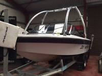 1994 Ski Nautique Wakeboard Boat with wakeboard tower