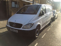 2004 MERCEDES VITO 109 2.2 CDI COMPACT, 6 SPEED, NO VAT!!