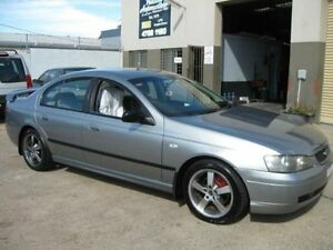2002 Ford Falcon BA XT Silver 4 Speed Auto Seq Sportshift Sedan Cambridge Park Penrith Area Preview