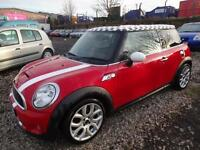 MINI COOPER S 1.6 CHILI PACK~57/2007~3 DOOR H/BACK~6 SPEED MANUAL~175 BHP TURBO