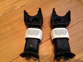 Adaptors (Car Seat) for Bugaboo Cameleon 1.2.3 Maxi Cosi