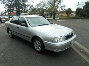 2001 Toyota Avalon MCX10R Conquest Silver Metallic 4 Speed Automatic Sedan Alberton Port Adelaide Area Preview