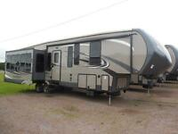 2015 SANDPIPER  346RET - VERY BRIGHT - TONS OF WINDOWS