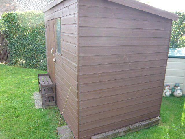 sturdy garden shed