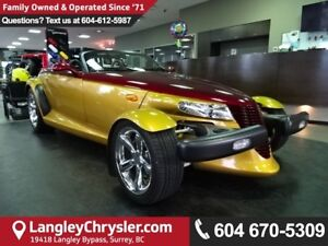 2002 Chrysler Prowler *ACCIDENT FREE* 2  OWNER*LOCAL BC CAR*