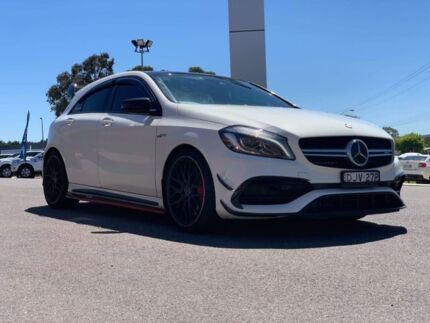 2016 Mercedes-Benz A45 AMG AMG White Sports Automatic Dual Clutch Hatchback Goulburn Goulburn City Preview