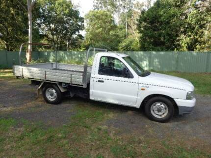 2004 Ford Courier Ute Alloy Tray Petrol & LP GAS 4cyl 5 S Manual