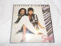 Vinyl LP Solid – Ashford & Simpson Capitol EJ 240250 1 Stereo 1984