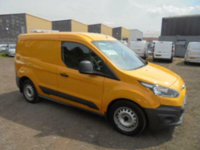 Ford Transit Connect 1.6 Tdci 95Ps Van DIESEL MANUAL YELLOW (2016)