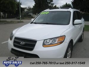 2009 Hyundai Santa FE GLS LEATHER-SUNROOF