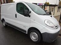 NISSAN PRIMASTART SHORT WHEEL BASE DIESEL VAN WITH ROOF RACKS NORTH LONDON