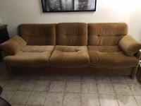 Loveseat and couch must go!