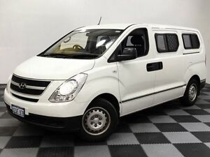 2010 Hyundai iLOAD TQ-V White 5 Speed Sports Automatic Van Edgewater Joondalup Area Preview