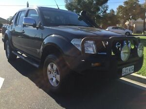 2009 Nissan Navara D40 ST-X Grey 6 Speed Manual Utility North Brighton Holdfast Bay Preview