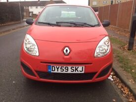 Renault Twingo 1.2 5 doors 2009 red