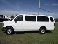 2012 Ford E-350 Super Duty Ext. pass. van, XLT, Air