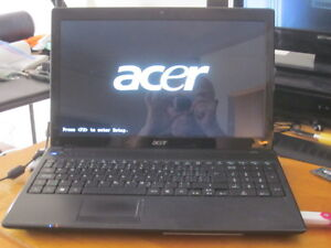 core i3 acer 5742 for repair/parts