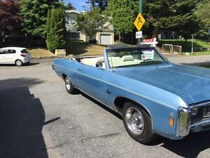 1969 Chevrolet Impala Convertible North Shore Greater Vancouver Area image 3
